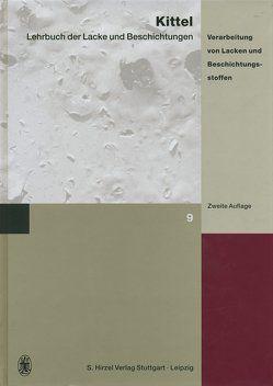 Lehrbuch der Lacke und Beschichtungen von Fobbe,  Helmut, Kittel,  Hans