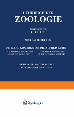 Lehrbuch der Zoologie von Claus,  C., Grobben,  Karl, Kühn,  Alfred