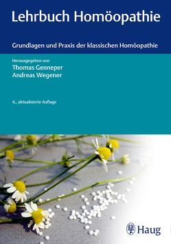 Lehrbuch Homöopathie von Genneper,  Thomas, Wegener,  Andreas