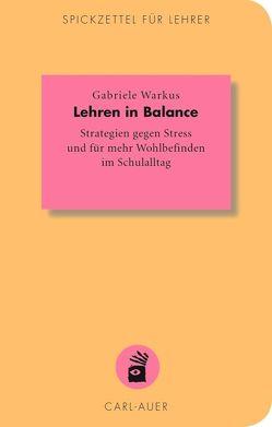 Lehren in Balance von Warkus,  Gabriele