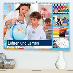 Lehren und Lernen. Ein Kalender für Lehrerinnen und Lehrer(Premium, hochwertiger DIN A2 Wandkalender 2020, Kunstdruck in Hochglanz) von Lehmann (Hrsg.),  Steffani