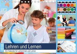 Lehren und Lernen. Ein Kalender für Lehrerinnen und Lehrer (Tischkalender 2018 DIN A5 quer) von Lehmann (Hrsg.),  Steffani