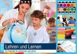 Lehren und Lernen. Ein Kalender für Lehrerinnen und Lehrer (Tischkalender 2019 DIN A5 quer) von Lehmann (Hrsg.),  Steffani