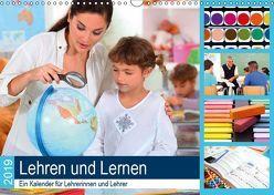 Lehren und Lernen. Ein Kalender für Lehrerinnen und Lehrer (Wandkalender 2019 DIN A3 quer) von Lehmann (Hrsg.),  Steffani