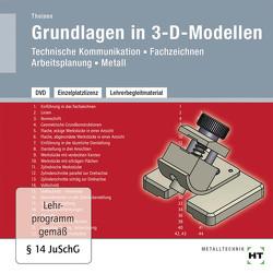Lehrerbegleitmaterial Grundlagen in 3-D-Modellen von Theisen,  Heinrich