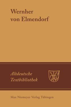 Lehrgedicht von Bumke,  Joachim, Gerdes,  Udo, Heinzle,  Joachim, Spellerberg,  Gerhard, Wernher von Elmendorf