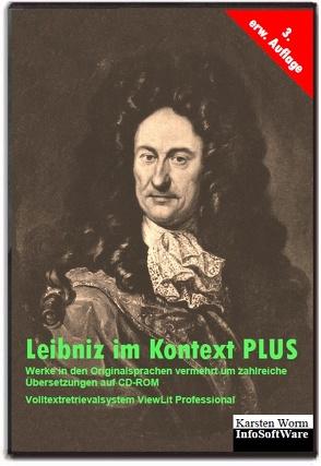 Leibniz im Kontext PLUS von Leibniz,  Gottfried Wilhelm