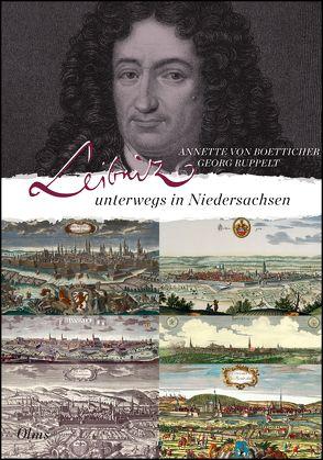Leibniz unterwegs in Niedersachsen von Boetticher,  Annette von, Ruppelt,  Georg