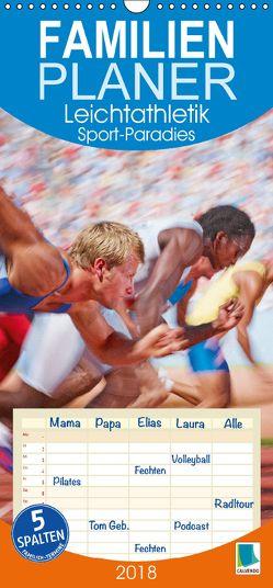 Leichtathletik: Sport-Paradies (Wandkalender 2018 PRO_49_format hoch) von CALVENDO,  k.A.