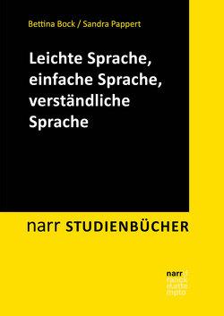Leichte Sprache, einfache Sprache, verständliche Sprache von Bock,  Bettina, Pappert,  Sandra