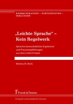 """""""Leichte Sprache"""" – Kein Regelwerk von Bock,  Bettina M."""
