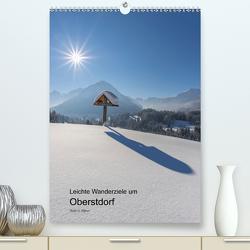 Leichte Wanderziele um Oberstdorf (Premium, hochwertiger DIN A2 Wandkalender 2020, Kunstdruck in Hochglanz) von G. Allgöwer,  Walter