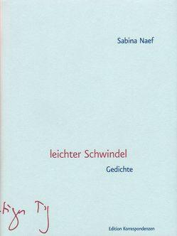 leichter Schwindel von Naef,  Sabina