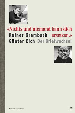 """""""Nichts und niemand kann dich ersetzen."""" von Berbig,  Roland, Brambach,  Rainer, Eich,  Günter"""