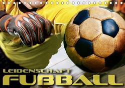 Leidenschaft Fußball (Tischkalender 2020 DIN A5 quer) von Bleicher,  Renate