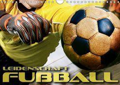 Leidenschaft Fußball (Wandkalender 2019 DIN A4 quer) von Bleicher,  Renate