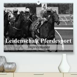 Leidenschaft Pferdesport – Impressionen (Premium, hochwertiger DIN A2 Wandkalender 2021, Kunstdruck in Hochglanz) von Stanzer,  Elisabeth