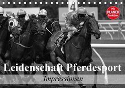 Leidenschaft Pferdesport – Impressionen (Tischkalender 2019 DIN A5 quer) von Stanzer,  Elisabeth