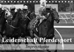 Leidenschaft Pferdesport – Impressionen (Tischkalender 2021 DIN A5 quer) von Stanzer,  Elisabeth