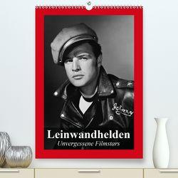 Leinwandhelden. Unvergessene Filmstars (Premium, hochwertiger DIN A2 Wandkalender 2020, Kunstdruck in Hochglanz) von Stanzer,  Elisabeth