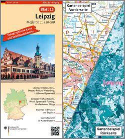 Leipzig von BKG - Bundesamt für Kartographie und Geodäsie