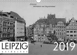 Leipzig entdecken 2019 (Wandkalender 2019 DIN A4 quer) von Verlag,  lerchenhain
