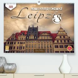 Leipzig Extremansichten (Premium, hochwertiger DIN A2 Wandkalender 2020, Kunstdruck in Hochglanz) von Pinkoss,  Oliver