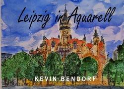 Leipzig in Aquarell von Bendorf,  Kevin