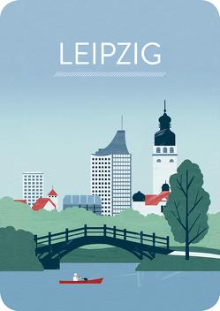 Leipzig. Magnet von Reinke,  Katinka