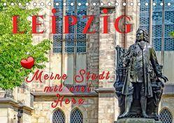 Leipzig – meine Stadt mit viel Herz (Tischkalender 2019 DIN A5 quer) von Roder,  Peter