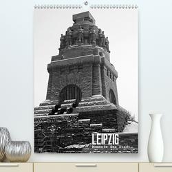LEIPZIG – Momente der Stadt (Premium, hochwertiger DIN A2 Wandkalender 2021, Kunstdruck in Hochglanz) von Möser,  Michael