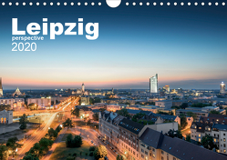 Leipzig perspective (Wandkalender 2020 DIN A4 quer) von Lindau,  Christian
