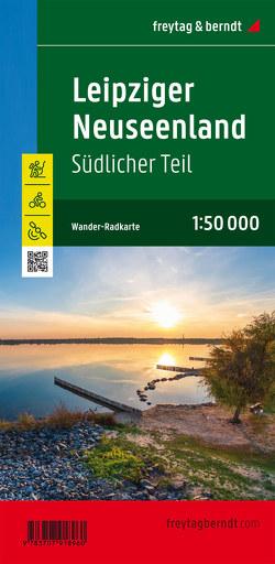 Leipziger Neuseenland, südlicher Teil, Wander- und Radkarte 1:50.000, mit Outdoor Guide