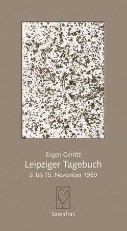 Leipziger Tagebuch von Gerritz,  Eugen