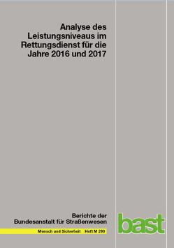 Leistungen des Rettungsdienstes 2016/17 von Behrendt,  H, Schmiedel,  R.