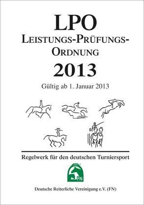 Leistungs-Prüfungs-Ordnung 2013 (LPO)