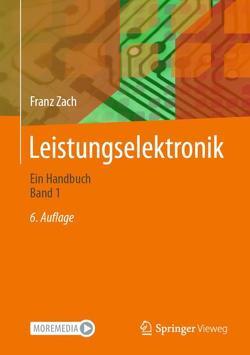 Leistungselektronik von Zach,  Franz