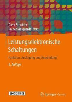 Leistungselektronische Schaltungen von Marquardt,  Rainer, Schröder,  Dierk