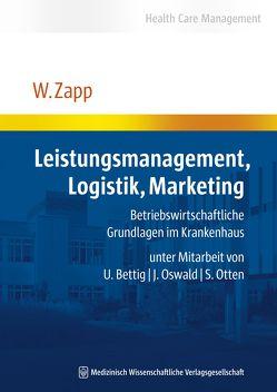 Leistungsmanagement, Logistik, Marketing von Zapp,  Winfried