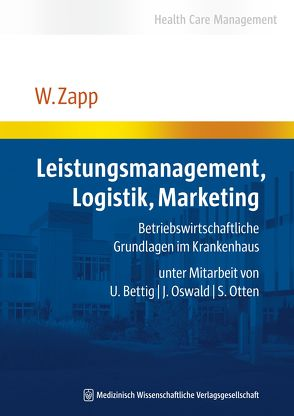 Leistungsmanagement, Logistik, Marketing von Zapp,  Winfried