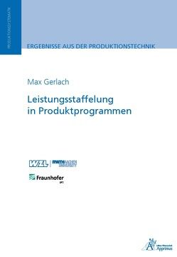 Leistungsstaffelung in Produktprogrammen von Gerlach,  Max