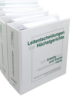 Leitentscheidungen der Höchstgerichte zum Arbeitsrecht und Sozialversicherungsrecht von Schrank,  Franz