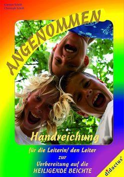 """Leiterhandbuch """"angenommen"""" von Schöll"""