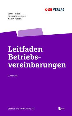 Leitfaden Betriebsvereinbarungen von Fritsch,  Clara, Haslinger,  Susanne, Müller,  Martin