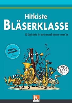 Leitfaden Bläserklasse. Hitkiste Bläserklasse von Gal,  Adam, Holzinger,  Jens