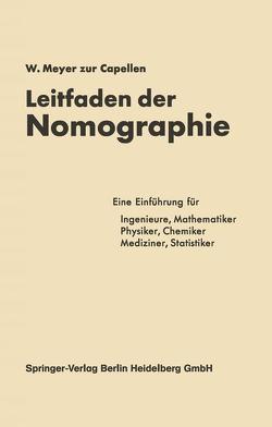 Leitfaden der Nomographie von Meyer zur Capellen,  W.