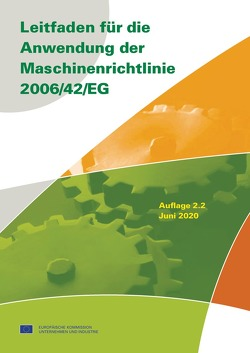 Leitfaden für die Anwendung der Maschinenrichtlinie 2006/42/EG – Buch mit E-Book