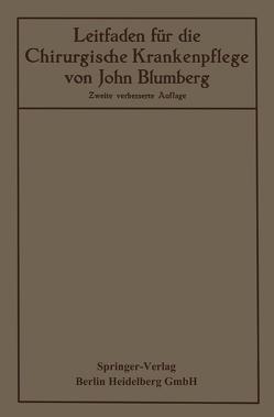 Leitfaden für die Chirurgische Krankenpflege von Blumberg,  John, Hildebrand,  Otto