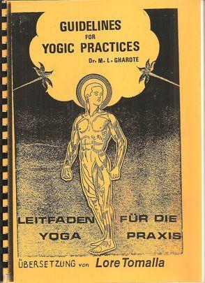 Leitfaden für die Yoga-Praxis von Gharote,  M L