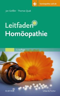 Leitfaden Homöopathie von Geißler,  Jan, Quak,  Thomas